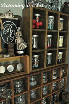 DIY Rustic Craft Room Makeover!