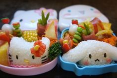 Cuties    great solution so that the kids eat colorful