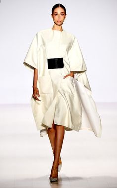 Pamella Roland from 100 Best Fashion Week Looks from All the Spring 2015 Collections | E! Online