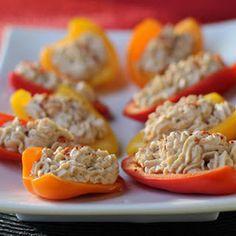 Stuffed Sweet Mini Peppers