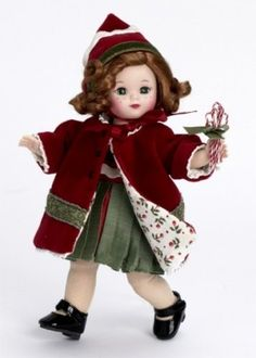 "Madame Alexander Dolls An Old Fashioned Christmas, 8"", Holiday Collection Madame Alexander,http://www.amazon.com/dp/B000YDS37U/ref=cm_sw_r_pi_dp_uzvztb1ZX3383VN1"