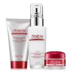 A $49 value, the collection includes: Day Lotion Broad Spectrum SPF 25, Foaming Cream Cleanser Try-It Size, Night Cream Try-It Size. Regularly $20.00, shop Avon Skincare online at http://eseagren.avonrepresentative.com