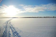 Slee spoor @ Lapland