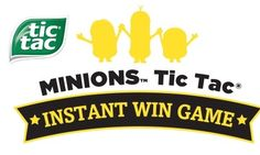 Tic Tac is getting you ready for the Minions movie release on June 18th in theatres with a chance to instantly win an AMEX gift card or Minions merchandise prize. I think any of us …