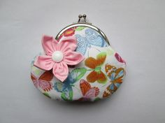 Coin purse with flower £8.50