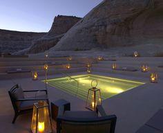 Amangiri Luxury Resort Hotel @ Canyon Point, Utah