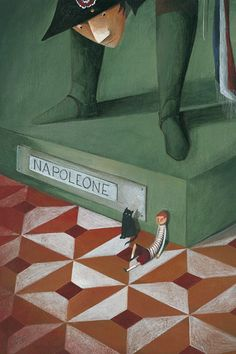 """Valentina Morea illustration for """"Parola di Napoleone!""""."""