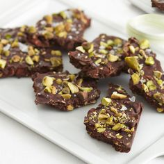Ghirardelli Baking: Pistachio & Marcona Almond Bark Recipe Impressive Results Worth Sharing. Bake with Ghirardelli.