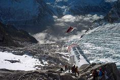 Hotel on Mont Blanc, Hotel boven kilometers hoge afgrond