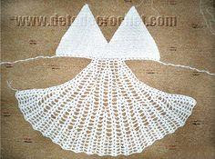 Cómo tejer un vestido sexy para la playa, tutorial crochet