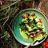 Palak paneer vegetarian. Spinach and paneer cheese