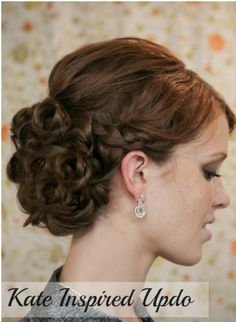 Kate Inspired Updo! #Tipit #Beauty #Musely #Tip