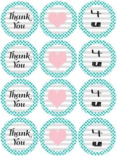Free Printable Mason Jar Lid Covers...great for gifts and crafting!