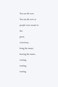 "Excerpt from Charles Bukowski's ""Splash"""