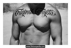 Gangster Tattoo Lettering Styles 01 - http://tattoospedia.com/gangster-tattoo-lettering-styles-01/