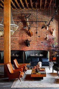 Modern Rustic   Home decor Inspiration   The Battery   San Francisco   Visit Travelshopa