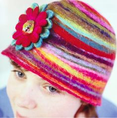 Learn to make a Felt Hat Course at The Gilliangladrag Fluff-a-torium 7bc4149a2e0