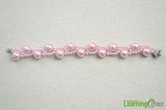 This DIY bracelet with beads tutorial is for your immediate reference when you intend to make wavy pattern bracelet crafts for kids.