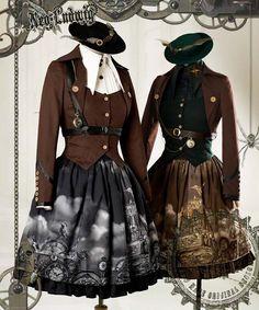 steampunk lolita - Buscar con Google