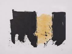 Robert Montherwell (1915 Aberdeen, Estados Unidos - 1991 Provicetown Estados Unidos) Titulo: España 1990 Grabado. 35/40 . 61x81,3 cm