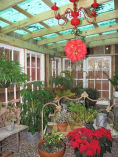amazing Repurposed Gardenshed !  #Pots #Repurposed Valerie wanted to have a shed for her tools and plants as well as a greenhouse. She decided to build a garden shed only from repurposed materials.Ta...