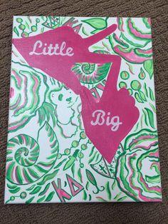 Kappa Delta Sigma Sigma Big/Little Reveal Gift! Iowa State University!