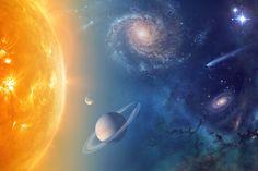 O Universo está inundado de água (Foto: NASA)