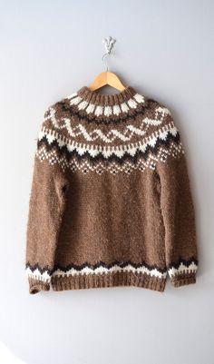 Pull Fair isle / folk chandail de laine / pull par DearGolden