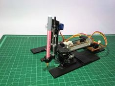 DIY Arduino CNC Drawing Machine : 17 Steps (with Pictures) - Instructables Arduino Cnc, Cnc Router, Arduino Programming, Arduino Sensors, Simple Arduino Projects, Cnc Projects, Science Projects, Machine Cnc, Making Machine