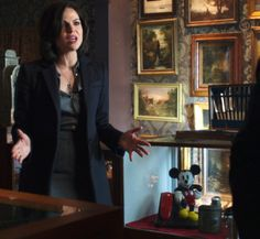 """Finding all of the Disney """"easter eggs"""" in Once upon a Time - like this Mickey Mouse in Mr. Gold's shop!"""