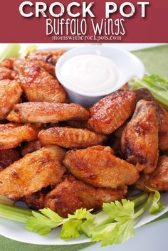 Crockpot Buffalo Wings Recipe Don't go out for wings. Stay in and make your own in the crockpot! Check out this yummy Crockpot Buffalo Wings Recipe! Crock Pot Slow Cooker, Crock Pot Cooking, Slow Cooker Recipes, Cooking Recipes, Superbowl Crockpot Recipes, Crockpot Lunch, Barbecue Recipes, Barbecue Sauce, Grilling Recipes