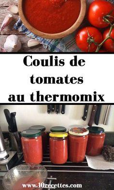 Sauce Tomate Thermomix, Plat Vegan, Gluten Free, Sauces, Vegetables, Celine Dion, Robots, Food, Tomato Sauce Recipe