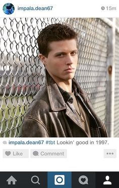 "Community Post: If Dean Winchester From ""Supernatural"" Had Instagram"