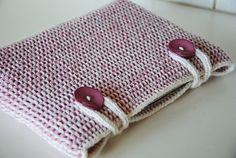 Generic Tunisian Crocheted Computer Sleeve Pattern by Maria Olsson  http://www.pysselochknap.com/