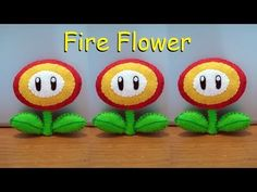B4A Studios: How to make a Fire Flower Plushie tutorial