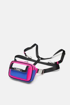 Imagen 3 de RIÑONERA MOCHILA de Zara Pouch Bag, Backpack Bags, Gym Accessories, Zara, Hip Bag, Nylon Bag, Girls Bags, Cute Bags, Body Bag