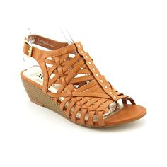 XOXO Women's Sabina Gladiator Wedge Sandals -- You can get more details by clicking on the image.
