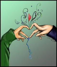 Love by jennibambani on DeviantArt Love Drawings, Pencil Drawings, What Is Love, Just Love, Devian Art, Art N Craft, How Are You Feeling, Feelings, Artist
