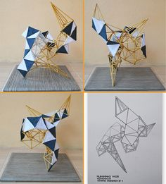 Tugas kedua maket Asymetrical Balance. dengan konsep Sculpture; The Golden Snake