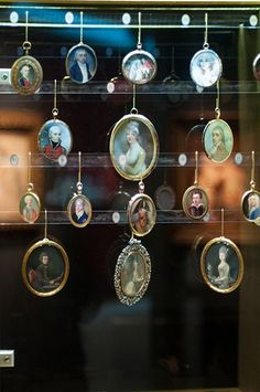 Selection of Miniatures, Philip Mould at Masterpiece London 2013 - Photography by Rory Lindsay