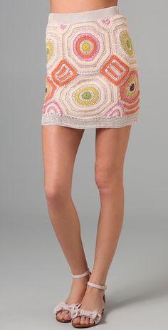 Twenty8Twelve Auriole Crochet Skirt   SHOPBOP _ inspiration