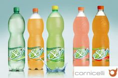 Ser flavoured waters by Cornicelli S.A.