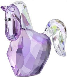 Purple Swarovski Figurines | Swarovski Crystal Figurine #1079474, Lovlots Jasmine