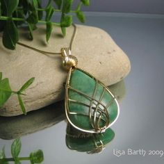 Wire Wrapping Instructions | Criss Cross Wire Wrapped Pendant Tutorial | JewelryLessons.com