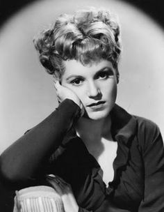Judy Holliday (Jun 21,1921-Jun 7,1965) American actress comedienne, on Broadway & Film. Won Oscar for Best Actress, 1950, in Born Yesterday (against Bette Davis & Anne Baxter both in All About Eve & Gloria Swanson in Sunset Boulevard. Talk about COMPETITION!) Called up as a Communist to testify during McCarthy Hearings 1950's; Black Listed from TV & radio; IQ of 172 (putting her above 99.9995%...!) long term relationship w/ jazz great,Jerry Mulligan; died at age 43, breast cancer. ~wikipedia