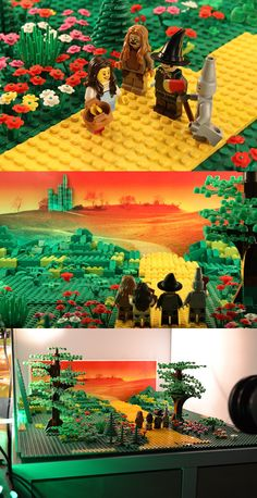 Lego artist Warren Elsmore gave 15-year-old Morgan Spence a two-week deadline to create a promotional video for Elsmore's upcoming book. The resulting video is a brief stop-motion homage to famous films created entirely from Lego bricks.
