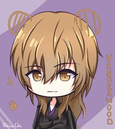 """yukina-chi: """" Ray & Vanderwood icon ! Because of V route, I end up drawing them ! Ray has become my second favourite and I'm happy to learn a bit more about Vanderwood's personality ! Jumin 