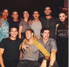 Teen wolf cast!!!!!