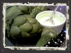 Artichokes - This is a fab snack that isn't a carb. Just steam for about 50 minutes, and keep peeling and snacking away until you get to the good stuff.     It's all about the dips. I made 2 different kinds. Rosemary Dip - Greek yogurt, chopped rosemary (or whatever fresh herbs that you have), lemon, seasalt, pepper, garlic. 2nd dip is greek yogurt, lemon, seasalt, lots of cayenne pepper. (if you wish add a spoon of mayo to make it richer)
