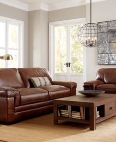 Myars Leather Sofa Collection